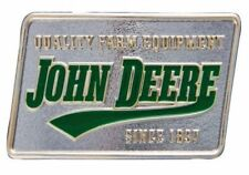 Montana Silversmith John Deere Quality Farm Equipment Square Attitude Buckle
