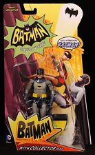 """2013 MATTEL CLASSIC BATMAN TV SERIES BATMAN 6"""" ACTION FIGURE MOC"""