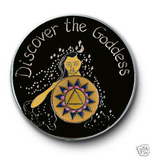 AA/ Discover the Goddess 12 Step Recovery Program Enameled Coin/Medallion