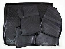 3D TPE Gummimatten + Kofferraumwanne SET für Ford Focus II Kombi 2005-2010