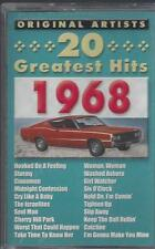 20 GREATEST HITS 1968 B.J. Thomas Percy Sledge Sam & Dave NEW CASSETTE