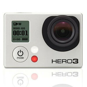 Gopro Hero 3 Camera Camcorder Black Edition With Battery CHDHX-301 black