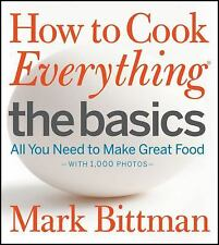 HOW TO COOK EVERYTHING: THE BASICS - NEW HARDCOVER BOOK
