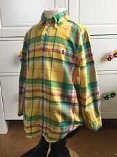 Polo Ralph Lauren, Hemd Jungen, 110 116 122, Gr. 6, kariert