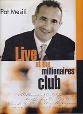 Pat Mesiti LIVE AT THE MILLIONAIRES CLUB 7 CD SET personal development