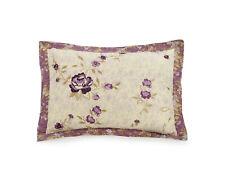BH&G King Purple Blossoms Bedding King Sham Pair