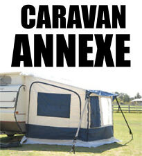 CARAVAN ANNEXE VAN ANNEX HORSE FLOAT AWNING IN BLUE