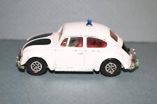 RARE VINTAGE Volkswagon police car CORGI TOYS 1200 Saloon Whizzwheels