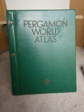 Pergamon World Atlas 1968 Polish Scientific Publishers Excellent Condition