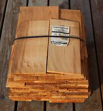 Rot-Zederschindeln gesägt 45cm, 3.Qualität Holzschindeln Gartenhaus Spielhaus
