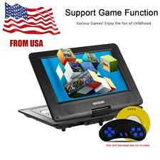 10.1 Inches 16:9 TFT Screen Portable DVD Player SD USB AV for Gamepad TV DVD