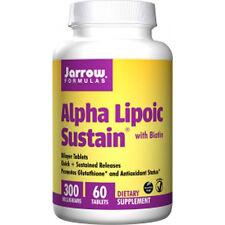 Alpha Lipoic Sustain 300 + Biotin, 300mg x 60Tabs, Hair, Skin, Jarrow Formulas,