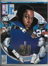 November 1991 issue of Tuff Stuff Jr. Magazine Barry Sanders front cover
