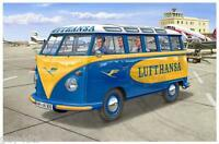 """VOLKSWAGEN T1 """"SAMBA BUS""""  'Lufthansa' - KIT REVELL 1/24 n° 7436"""