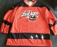 Team Signed 2003 Las Vegas Wranglers Jersey OT Sports Size Adult  XL NWT