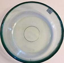 100% Recycled Glass Bowls Large (Set of 4) Pasta, Salad, Soup, Vintage Style