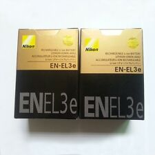 2 x EN-EL3e EL3e Battery for NIKON DSLR D80/D300/D700/D90/D70/D80S DC New