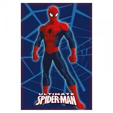 MANTA FORRO POLAR NIÑO SPIDERMAN MARVEL AZUL 100 X 140 CM