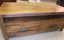 Solid Wood Coffee Tables with Drawers