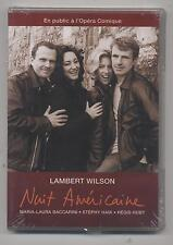 NEUF DVD LAMBERT WILSON NUIT AMERICAINE SOUS BLISTER MUSIQUE A L OPERA COMIQUE
