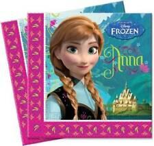 El reino del Hielo 20 servilletas de papel fiesta Disney Frozen