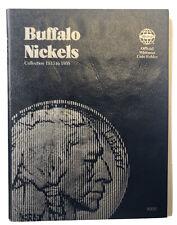 Buffalo Nickel 1913-1938 Whitman Coin Folder 9008 Album Book