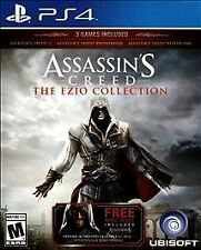 Assassin's Creed The EZIO Collection (PS4) 3 GAMES EXCELLENT CONDITION