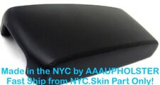 Fits 09-14 Nissan Maxima Black PVC Leather Center Console Lid Armrest Cover Skin