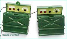 2 GI JOE MORSE RADIO Field case headphones telegraph key 1960s HASBRO Hong Kong