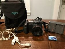 Canon PowerShot Pro 1 8.0Mp Digital Camera - Black With Case , Cord, 512mb Card