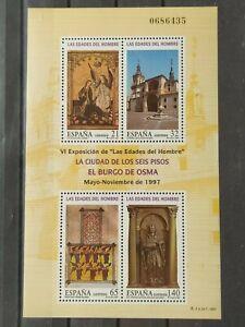 ESPAÑA 1997 EDADES DEL HOMBRE EDIFIL 3494** HB NUEVA SIN CHARNELA MNH