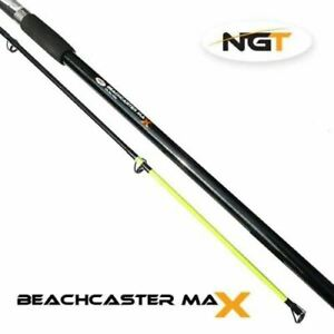 NGT Beachcaster Max 12ft 2pc Beach Sea Fishing Rod NEW