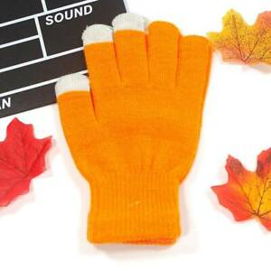 Magic Gloves ADULTS Womens Warm One Size Soft Ladies Winter Black Mens Stretch
