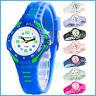 Analoge sportlich Armbanduhr XONIX Damen Kinder WR100m Licht