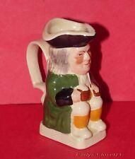 "TONY WOOD Staffordshire * Vintage Mini Philpot Toby / Character Jug * 3.25"" *"