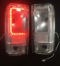 FORD RANGER YRS 83-92 & BRONCO 2 YRS 83-90 CLEAR TAIL LIGHTS Built in LED BOARD