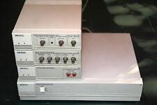 multimetro, oscilloscopio, generatore di funzione + base alimentazione HP
