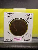 1802 Draped Bust Large Cent 7868