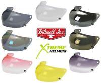 Biltwell Gringo S Anti-Fog Bubble Shield Replacement Visor for Gringo S Helmet