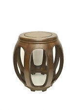 Asian Chinese   Jichimu round Stool Low Table Stand 4232