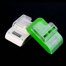 LCD Universal Mobile Phone Camera Wall Travel Battery Charger With USB Port SM
