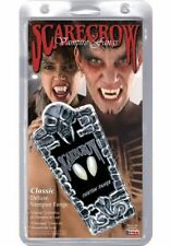 Scarecrow Vampire Fangs Classic Deluxe Horror Goth Gothic Monster Realistic Punk