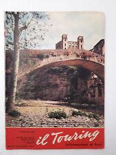 Il Touring 1 novembre 1962 i ruderi del castello dei Doria sul torrente Nervia