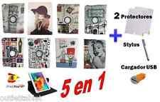 FUNDA PARA TABLET SAMSUNG GALAXY TAB 4 SM-T530 SM-T531 PIEL 10.1 Giratoria 360º