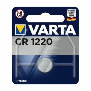 VARTA CR1220 3V LITHIUM BATTERY - BRAND NEW AND SEALED!