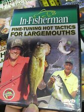 "In-Fisherman Fishin DVD Video BASS ""FINE TUNING HOT TACTICS FOR LARGEMOUTHS"""