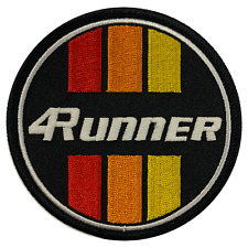 Toyota 4Runner Retro Circle Embroidered Patch