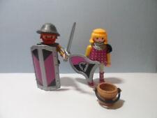 PLAYMOBIL – 2 chevaliers, barbares mauve / Knight, barbarous #7