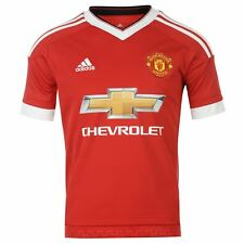 adidas Manchester united Home Shirt 2015-2016 junior. 13-14 years