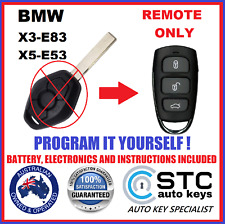 For BMW Key Remote X3 E83 X5 E53 - 2003 2004 2005 2006 2007 2008 2009 2010 FOB